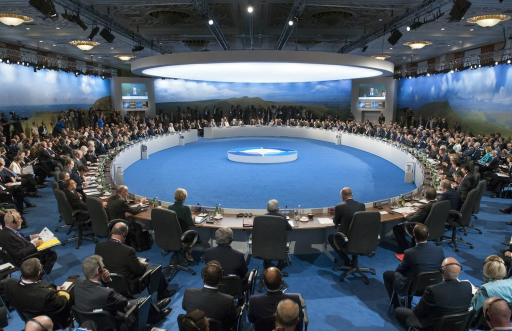 NATO Summit with all Heads of State and Government